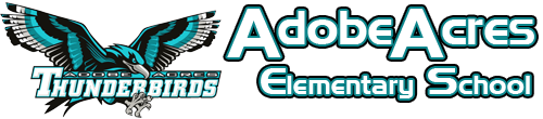 Adobe Acres Elementary School  Logo